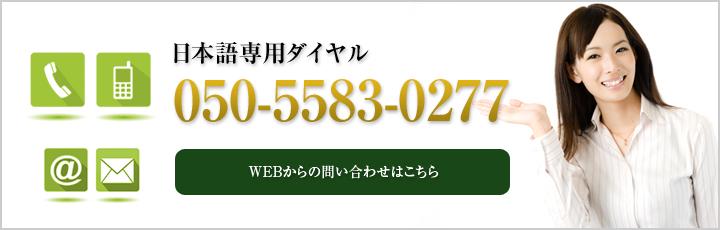 日本語でのお問い合わせはこちらから